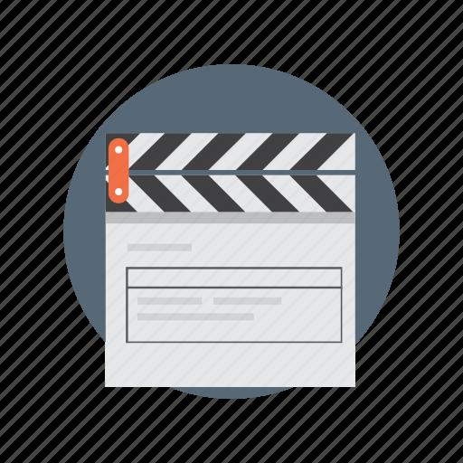 film, multimedia, player, productio, video icon
