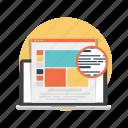 development, internet, marketing, web icon