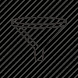 conversion, filter, funnel, generation, lead, marketing, sales icon