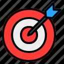 goal, target, aim, focus, dartboard, marketing, business