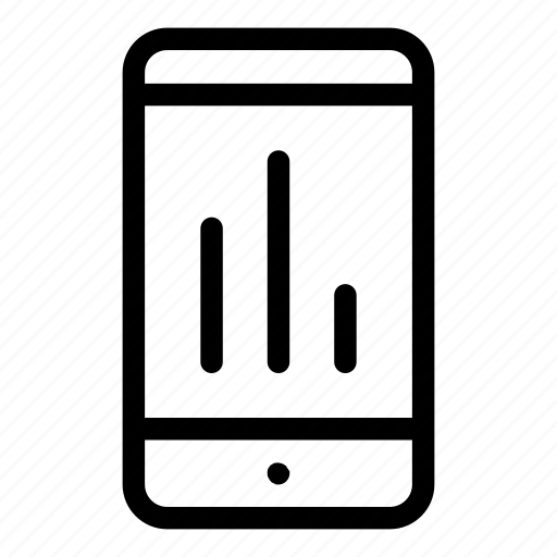 cellphone, electronics, metric, mobile, smartphone, technology icon
