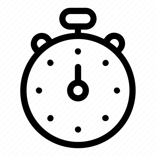 chronometer, interface, stopwatch, time, timer, tools and utensils, wait icon