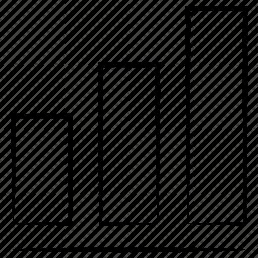 graph, network, signals icon