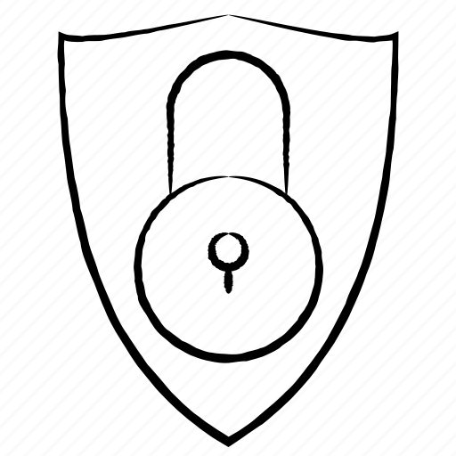 protected, protection, shield icon