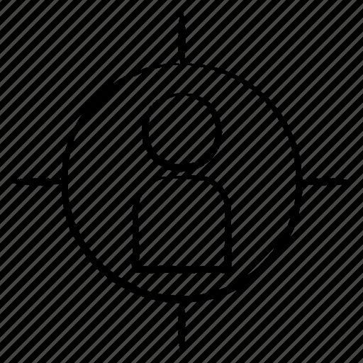 avatar, focus, target icon