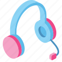 headphones, support, manager, voice, communication, service, help