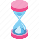 hourglass, interval, schedule, stopwatch, time, timer, wait icon