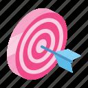 achievement, business, luck, marketing, shopping, success, target