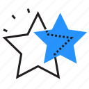 favorite, rating, sky, stars icon