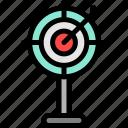 dart, market, marketing, target icon