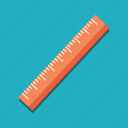 education, graphic tool, measuring, miscellaneous, ruler, size, tool icon