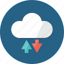 cloud, cloud computing, cloud data, hosting, network, networking, ui icon