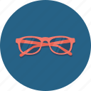 book, eye, eyeglasses, glasses, optical, reading glasses, vision icon