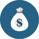 bank, banking, business, currency, money, money bag, saving icon