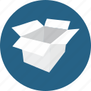 box, business, cardboard, delivery, fragile, package, packaging icon