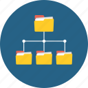business, database, diagram, interface, network, networking, structure icon