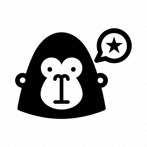 gorilla, guerrilla, guerrilla marketing, marketing, unconventional marketing icon