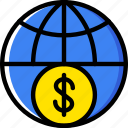 business, finance, marketing, money, web icon
