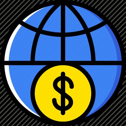 business, finance, marketing, money, web icon