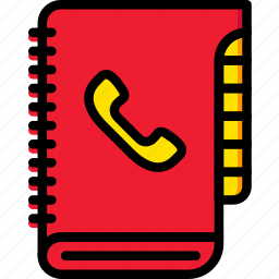book, business, contact, finance, marketing icon