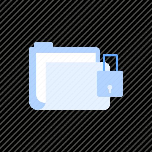 data, document, folder, lock, password, protection, security icon