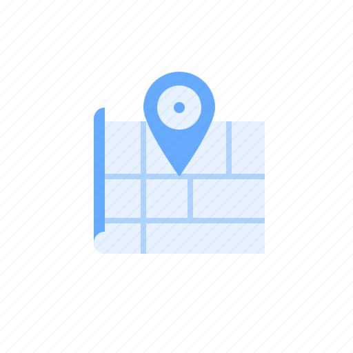 location, map, marker, navigation, place icon