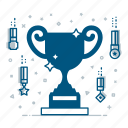achievement, award, champion, competition, prize, success, winner icon