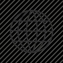 globe, internet, internet logo, w.w.w., world wide web, www, www logo icon