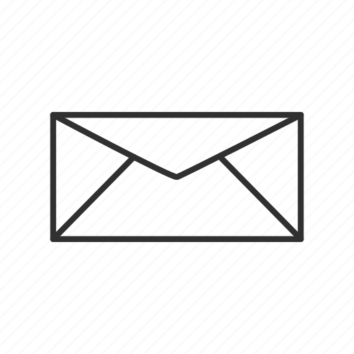 closed envelope, closed letter, closed mail, email, envelope, mail, send icon