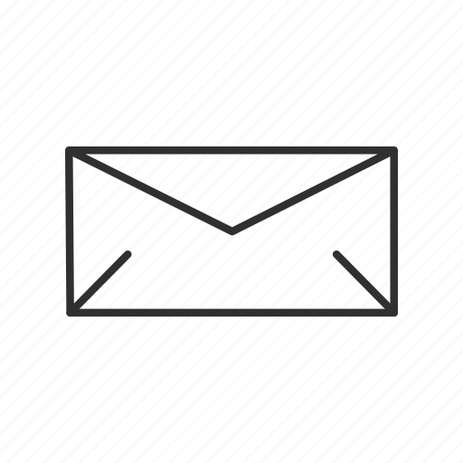 closed envelope, email, envelope, letter, mail, send, send email icon