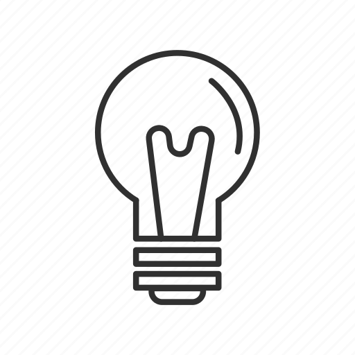 bulb, idea, light, light bulb, light off, lightbulb, off icon