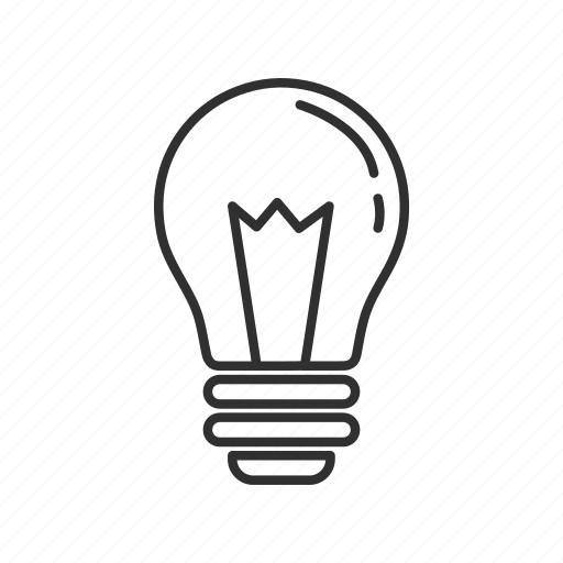 idea, light, light bulb, lightbulb, off light, off light bulb, off lightbulb icon