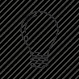 good idea, idea, light, light bulb, light off, lightbulb, lightbulb off icon