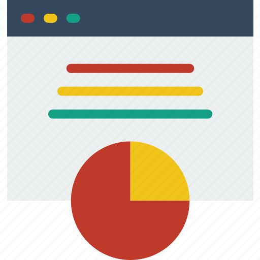 analytics, business, finance, marketing, web icon
