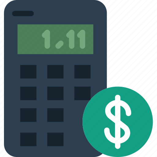 business, calculator, finance, marketing icon