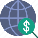 business, conversation, finance, marketing, world icon