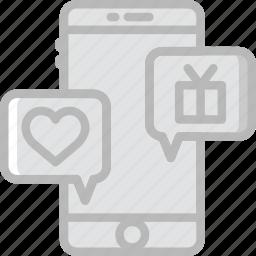 business, conversation, finance, marketing icon