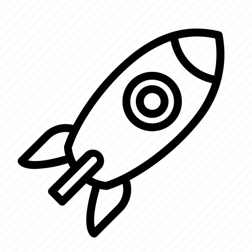 launch, release, rocket icon