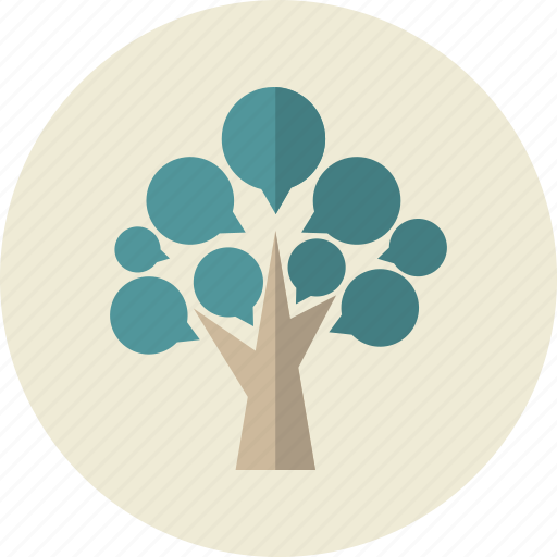 blogging, communication, grow, question, reply, wood icon