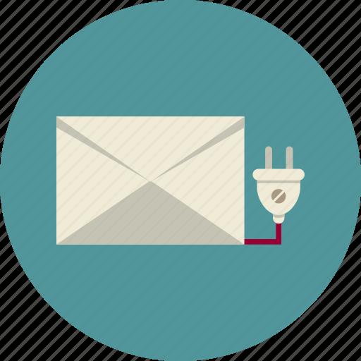 commerce, electronic, mail, marketing, notification, socket icon