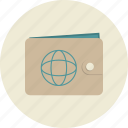 bank account, commerce, electronic, money, payment, payment method, wallet icon