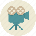 camera, marketing, present, video icon