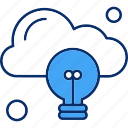 bulb, business, cloud, marketing