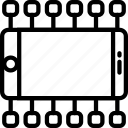 diagram, marketing, finance, business icon