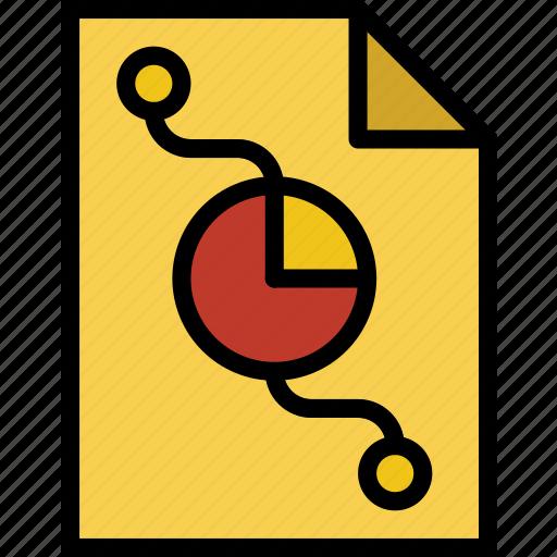 business, file, finance, marketing icon