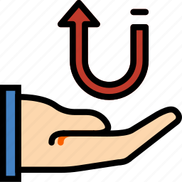 business, finance, information, marketing, receive icon