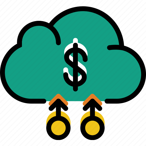 business, cloud, finance, marketing icon