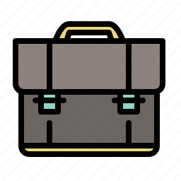 briefcase, business, documents, marketing icon