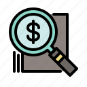 analytics, business, finance, marketing, money, optimization icon
