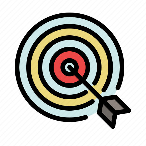 bulls eye, business, goal, marketing, optimization, target icon